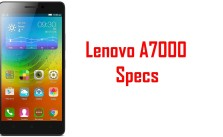 Lenovo A7000 specifications and features