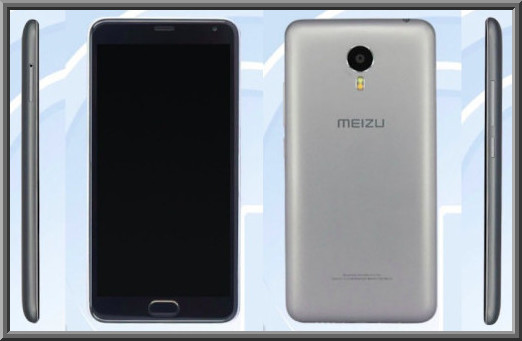 Meizu m3 Note with a large 5.50 inch display