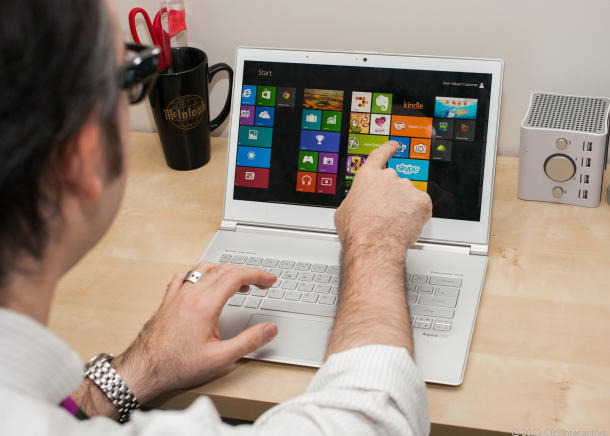 Success story of 20 windows 8 devices at CES
