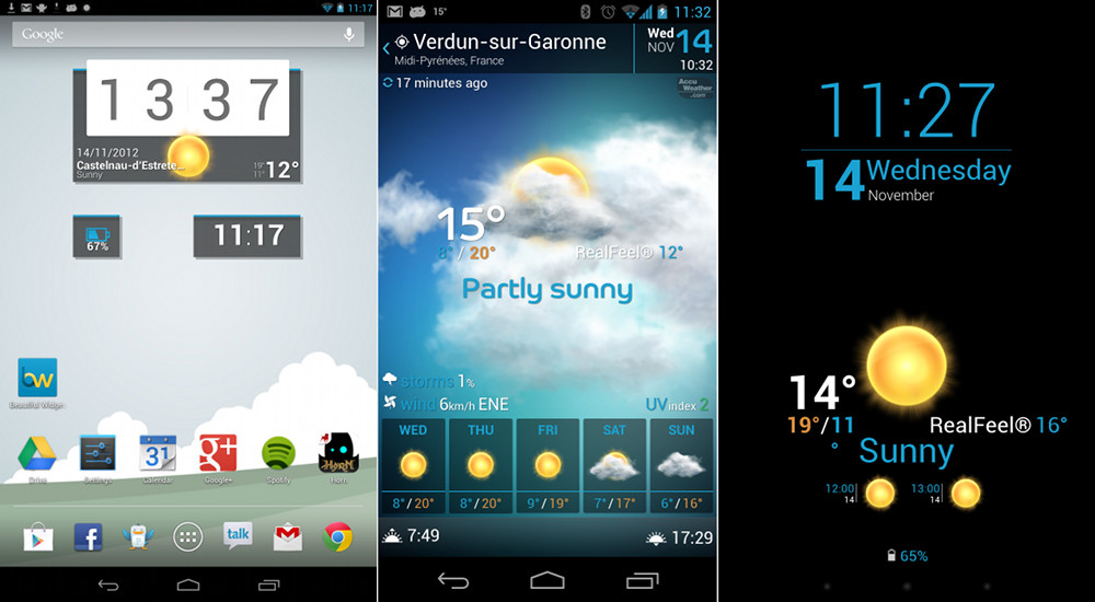 Top 5 Widgets for your Android Phone