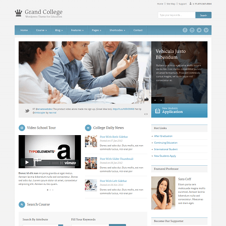 Top Free Education WordPress Themes On Education Press