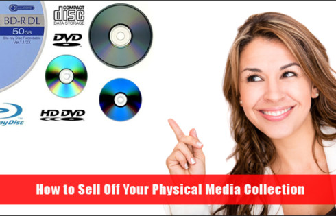 How to Sell Off Your Physical Media Collection