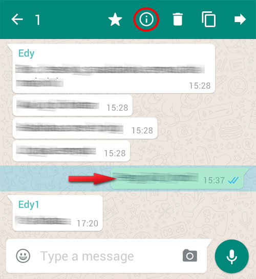 How to Know Who Has Read Your Whatsapp Group Message on Android