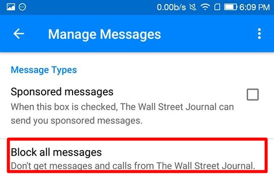 How to Block Spam from Facebook Messenger Bots