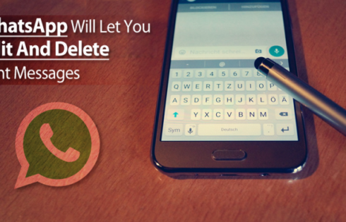 How To Delete Whatsapp Sent Messages