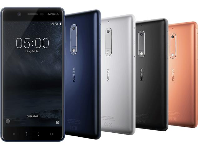 Nokia 5 (TA-1044) is certified by the FCC