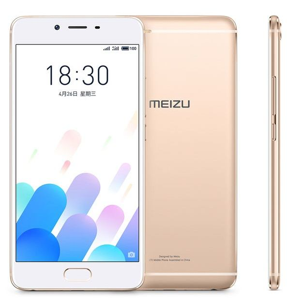 Meizu E2 with 4 GB RAM and 3400 mAh battery