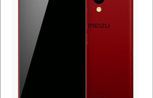 Meizu M5 C in red elegant look