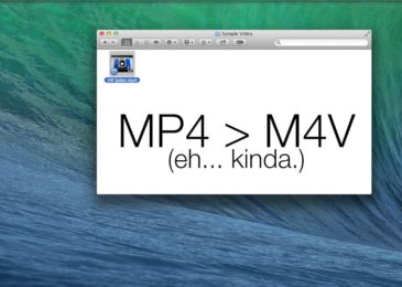 How to Convert M4V to MP4 on Mac?