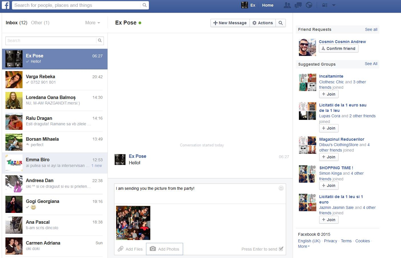 How to read someone's Facebook messages without knowing their password