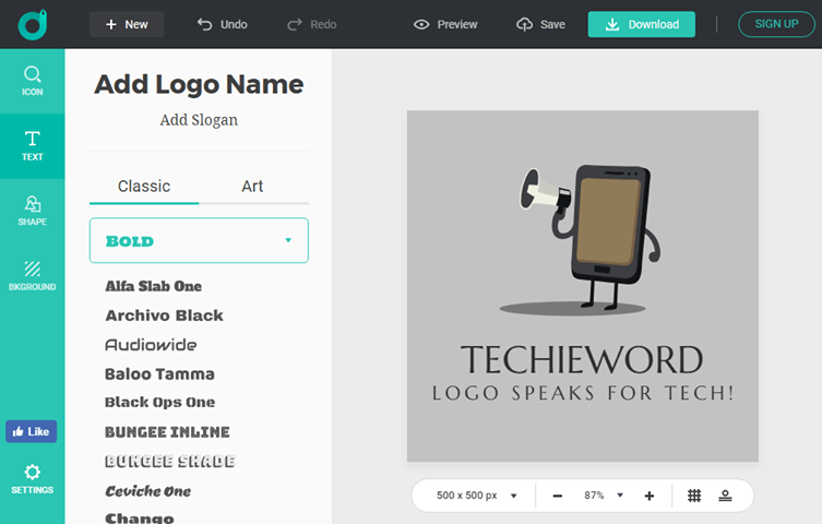 DesignEvo-Your Logo Library and Best Logo Helper