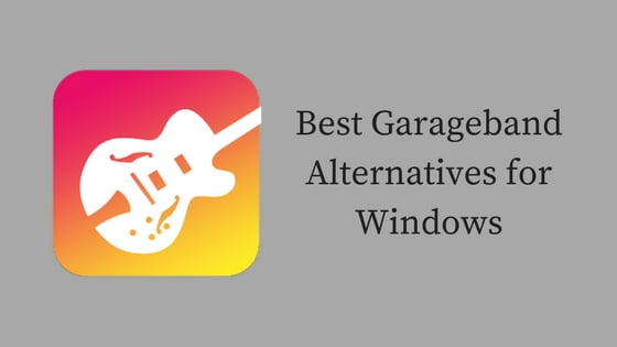 Garageband Alternatives