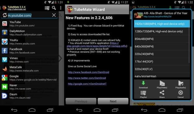 tubemate apk file download latest version