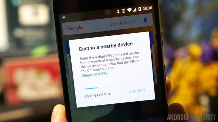 Kodi on Chromecast via Android