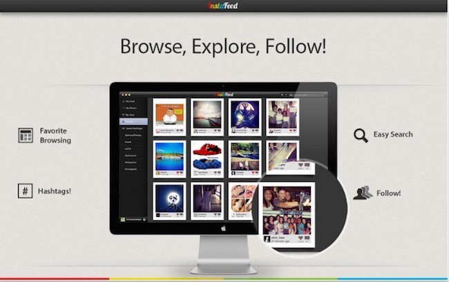 Instafeed - best instagram apps for mac