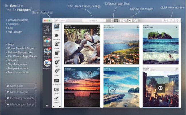 Photodesk - Instagram apps for mac