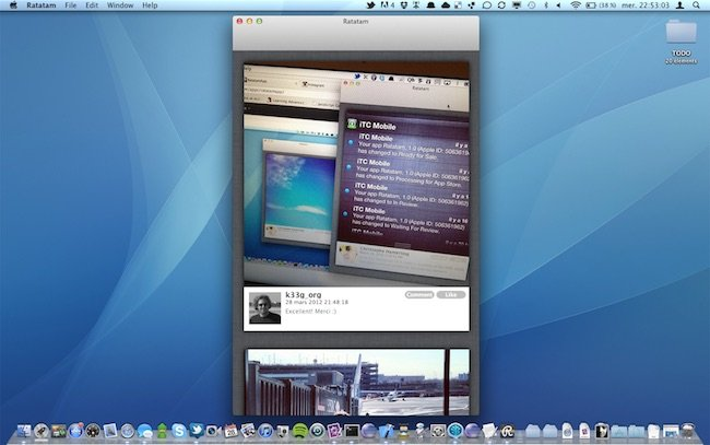 Ratatam - Instagram apps for mac