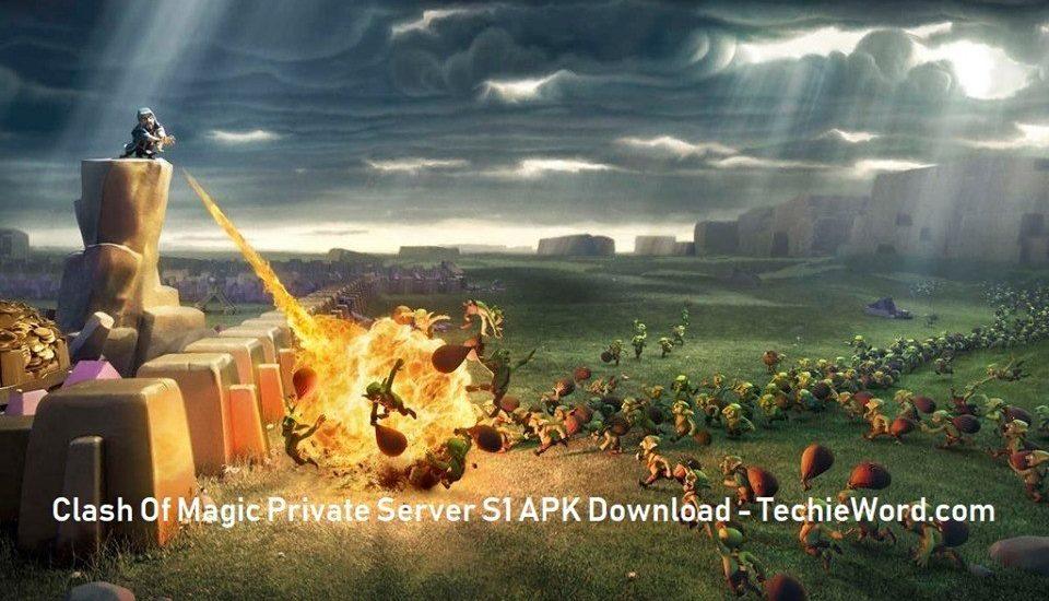 Download Clash of Magic private server S1 Apk-Best COC