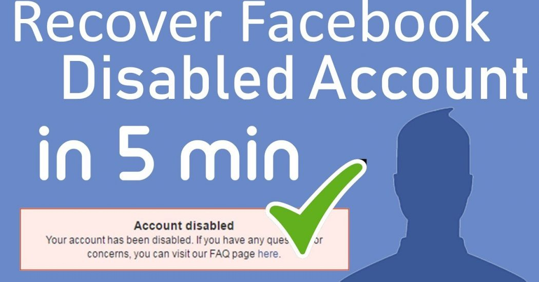 disabled Facebook Account ID
