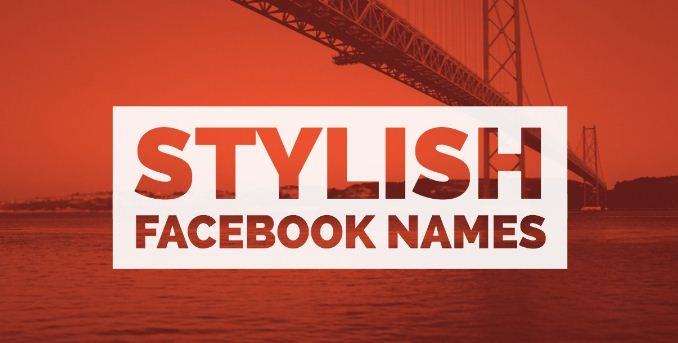Stylish Facebook Profile Name