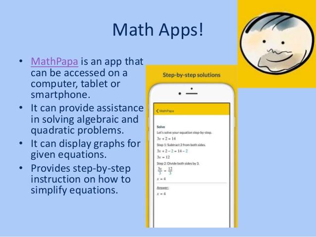 MathPapa-Algebra-Calculator-App